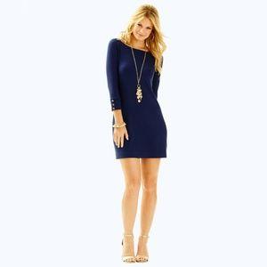 Lilly Pulitzer UPF 50+ Sophie Dress Navy Size L